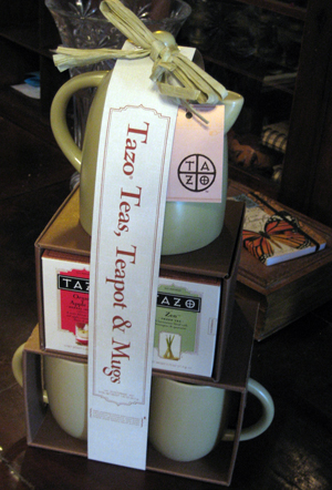 Tazo Tea Tower